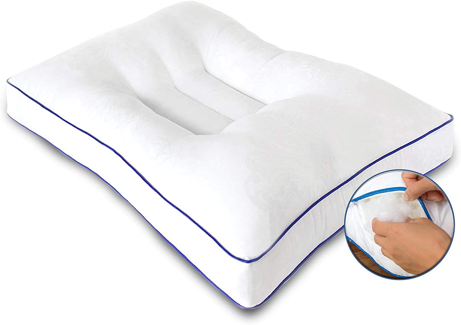 Nature's Guest Adjustable Cervical Orthopedic Pillow
