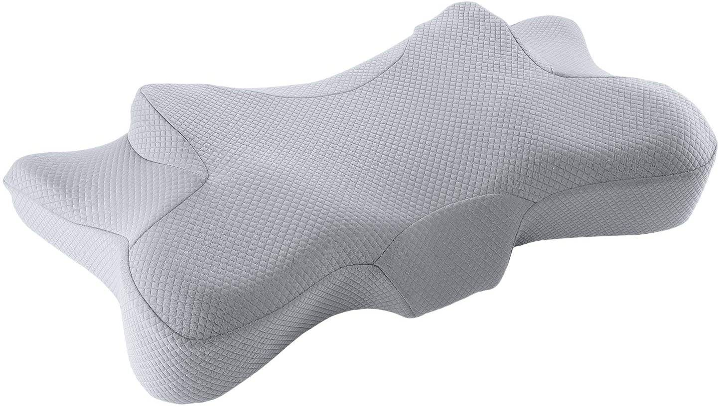 MARNUR Cervical Memory Foam Pillow for Back Sleepers