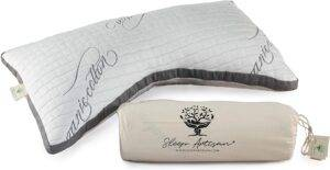 Seep Astisan Side Sleeper Pillow for Neck & Shoulders - Pain Relief & Hypoallergenic