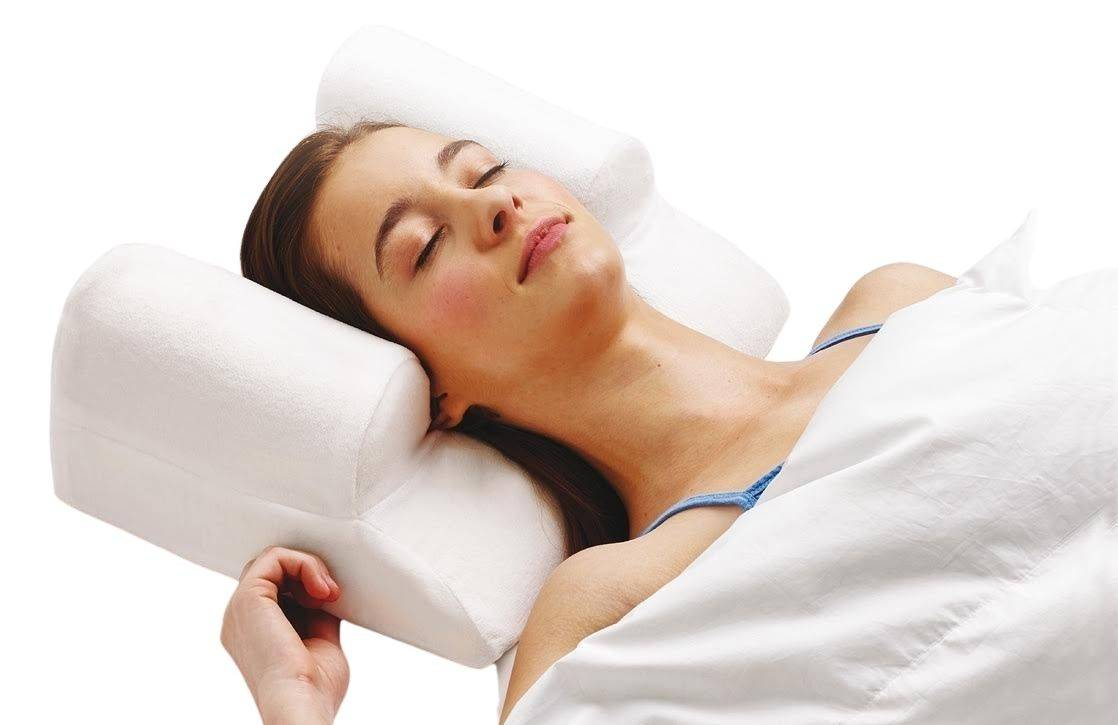 YourFacePillow Acne Treatment Back Sleeping Pillow