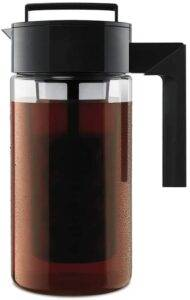 Takeya Patented Deluxe Cold Brew Coffee Maker for Iced Coffee