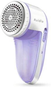 Ruidla Fabric Shaver Defuzzer - Electric Lint Remover for Couch - Best Depiller
