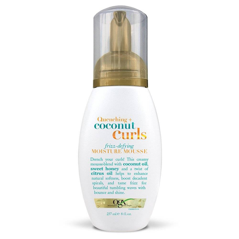 OGX Quenching + Coconut Curls Frizz Mousse