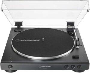 Audio-Technica Bluetooth Record Player - Wireless Belt-Drive Turntable - Best Wireless Record Player