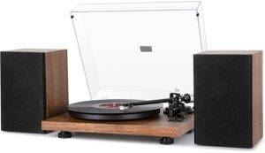 1byOne Wireless Turntable - Record Player