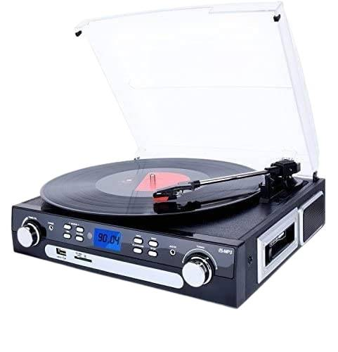 DIGITNOW Bluetooth Record Player - Turntable Speakers