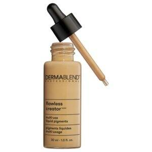 Dermablend Flawless Creator Multi-Use Full Coverage Liquid Foundation - Best Foundation for Sensitive Skin