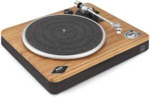 House of Marley Stir It Up Wireless Turntable - Vinyl Record Player with Bluetooth