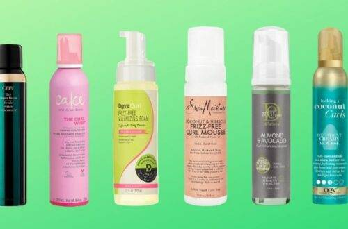 Best Drugstore Mousse for Curly Hair