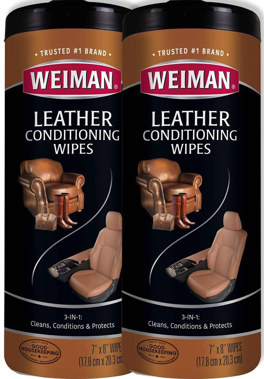 Weiman Leather Conditioning Wipes for Purse & Bags