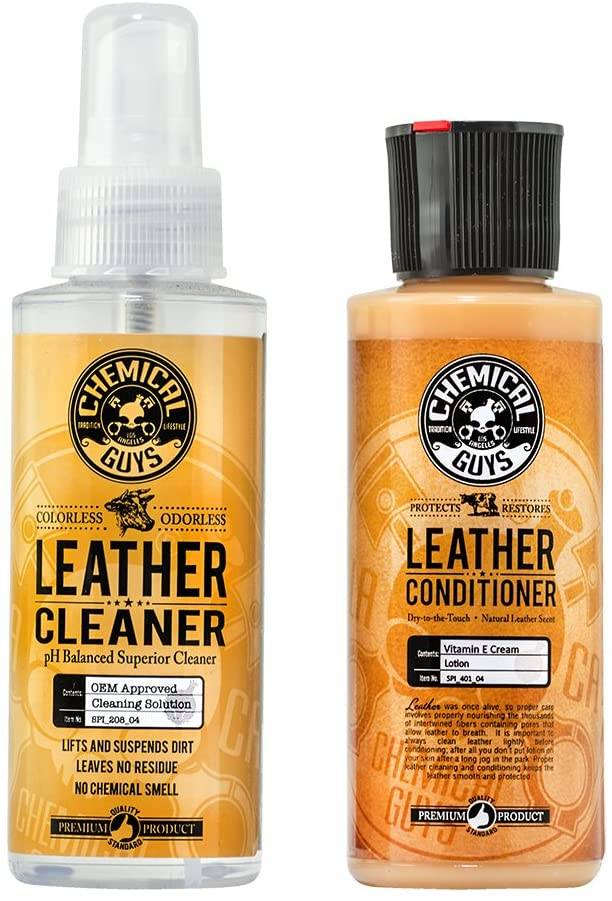 Chemical Guys Complete Leather Care Kit for Shoes & Boots