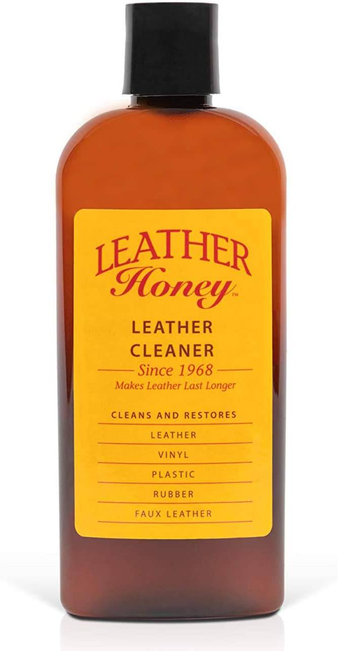 Leather Honey Cleaner for Shoes, Furniture & Auto Interior