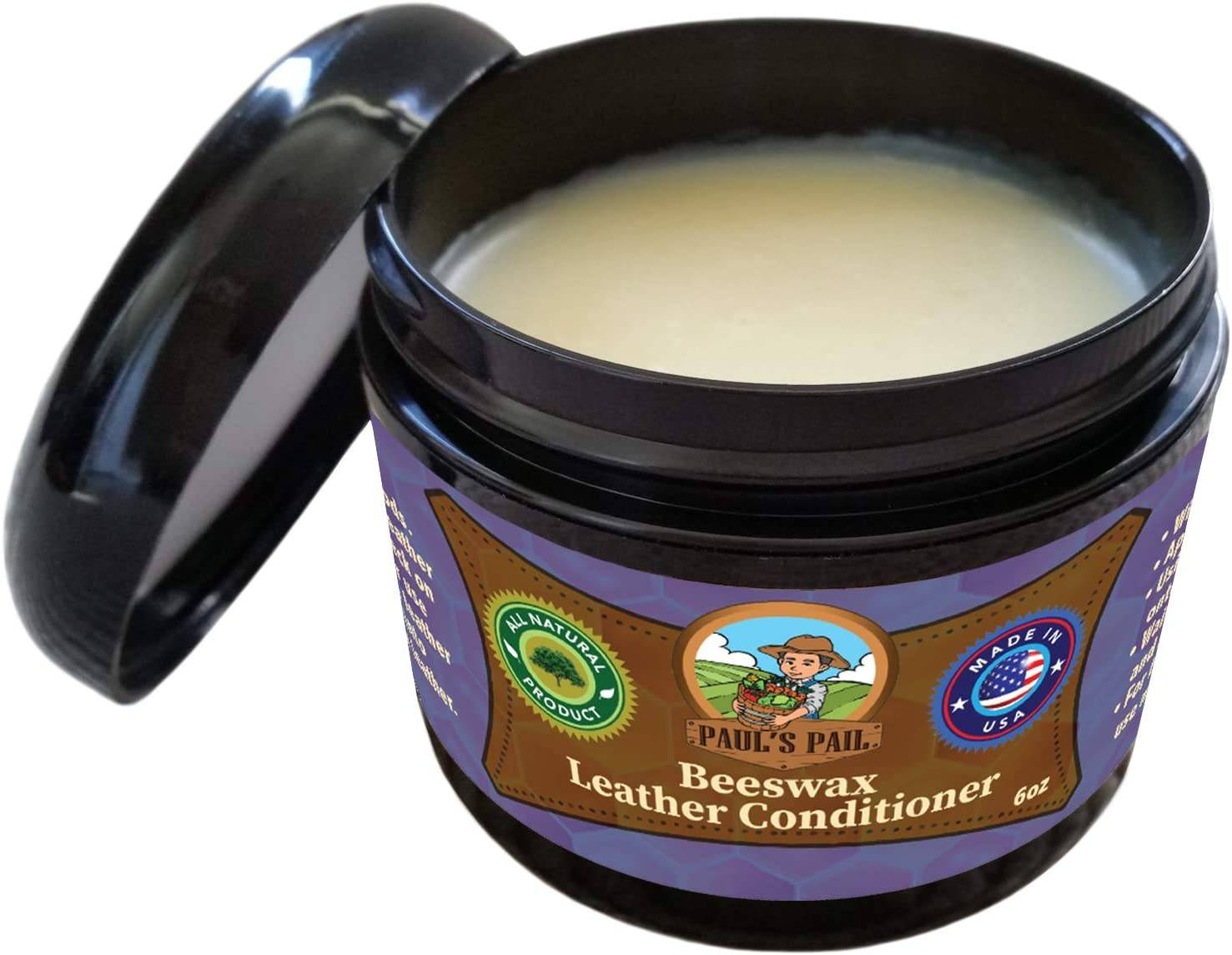 Paul's Pail All Natural Beeswax Leather Conditioner