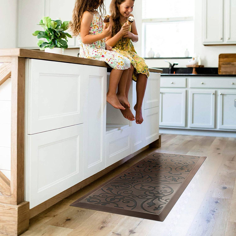 Amcomfy Long Kitchen Mats - Anti Fatigue Floor Pads