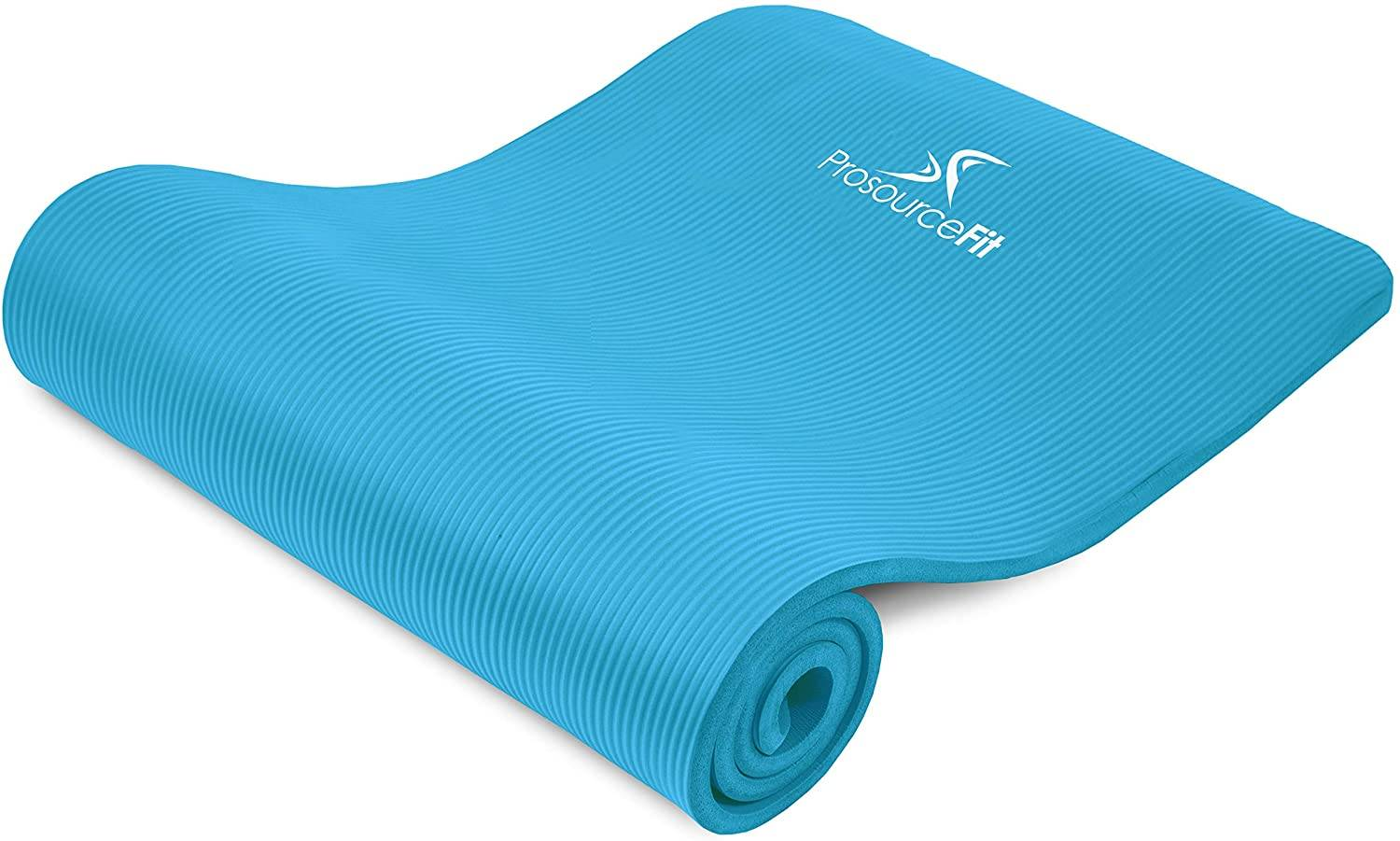 ProsourceFit Extra Thick Yoga Exercise Mat for Hard Floors